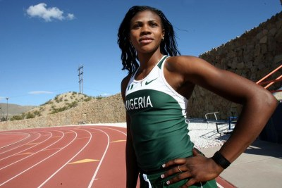 Nigerian Track and Field Athlete Blessing Okagbare