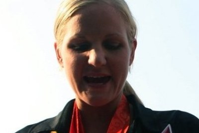 Zimbabwe swimming star Kirsty Coventry