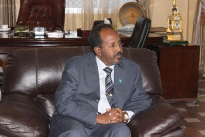 The New President of Somalia Hassan Sheikh Mahamoud