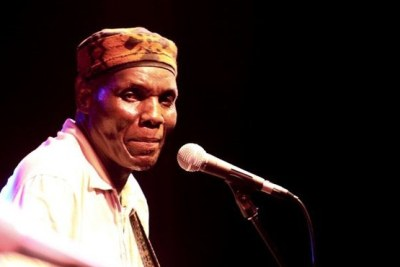 An Oliver Mtukudzi collection CD cover.