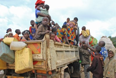 More refugees are expected as fighting continues in the DRC