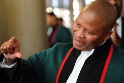 South African Chief Justice Mogoeng Mogoeng (file photo).