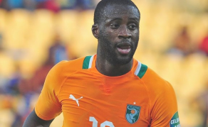 Yaya Toure Only African Ballon d'Or Nominee