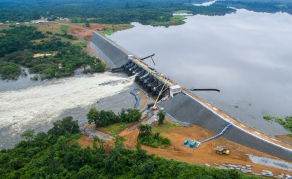 Liberia Tests New Hydropower Turbine