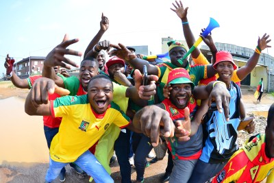 Cameroon fans (file photo).