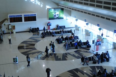 Terminal at OR Tambo International Airport (file photo).