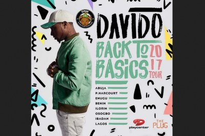 Davido's Back To Basics 2017 Tour.