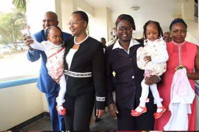 On November 1, 2016, the girls were rolled into the operating theatre at Kenyatta National Hospital after being given a 50-50 per cent chance of survival.