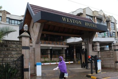 The Western Hotel in Nairobi on June 6, 2015.