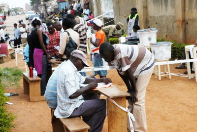 Voters registration (file photo).