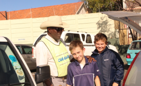 From Needing Hope to Giving it -The Story of a Namibian Car Guard