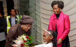 Liberian President Sirleaf Makes State Visit to South Africa