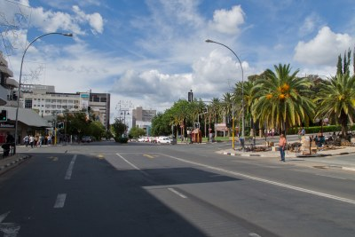 Independence Avenue Windhoek