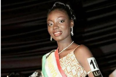 Séverine Princesse Poadiague élue Miss Burkina 2017