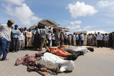 Civilians killed by U.S. and Somali forces (file photo).