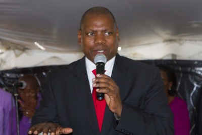 Zweli Mkhize, Treasurer-General of the African National Congress and presidential aspirant