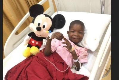 Foundation visits Chibok boy after successful surgery
