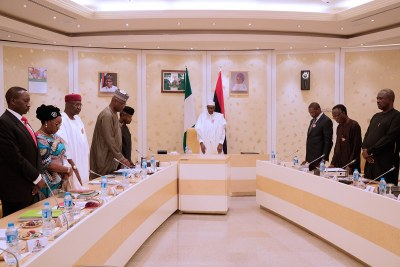 Buhari inaugurates committee to audit recovered loot.