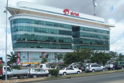 Airtel Headquarters in Dar es salaam, Tanzania.
