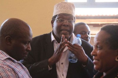 Miguna Miguna (file photo).