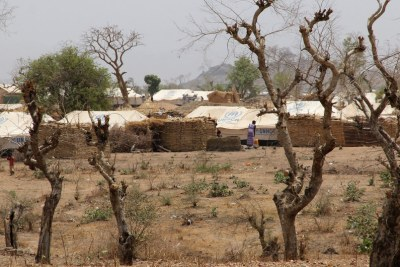 A refugee camp in northern Cameroon hosting Nigerian refugees (file photo).