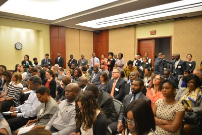 More than 200 people in attendance for 'Crisis in the Democratic Republic of Congo (DRC) on Capitol Hill in Washington, DC.