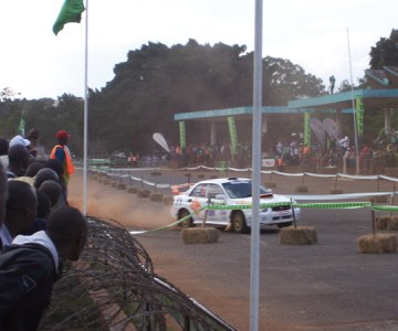 The KCB Safari Rally