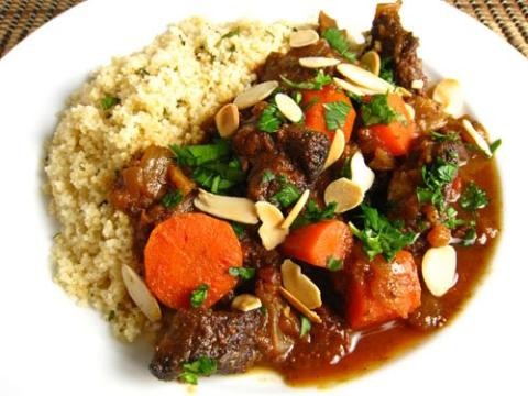 Lamb Tagine with Artichokes