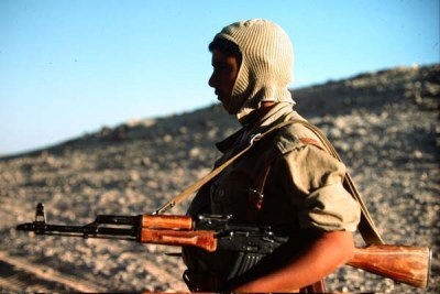 A Polisario fighter.