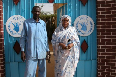 World Food Programme staff for Sudan-Chad relief work.