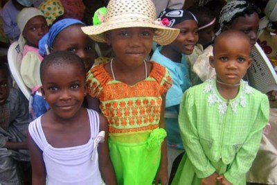 Nigerian children.