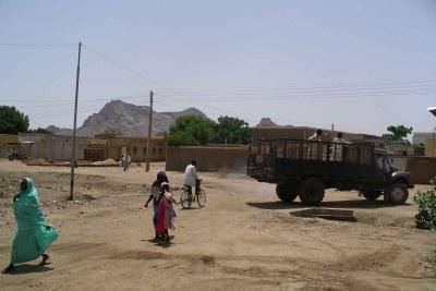 La ville de Kassala, sur la frontière est du Soudan