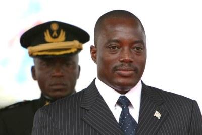 DR Congo President Joseph Kabila.