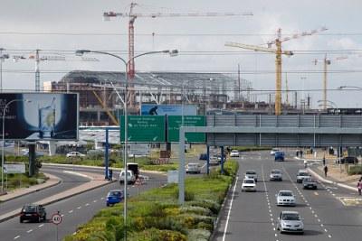 La ville de Cape Town.
