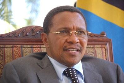 Tanzania President Jakaya Kikwete.