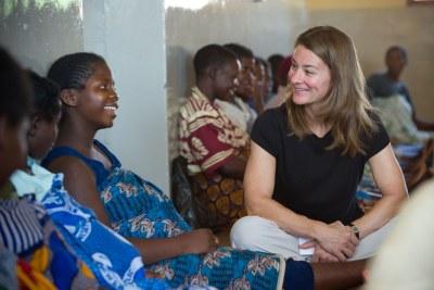 Melinda Gates Visits Malawi, Benin