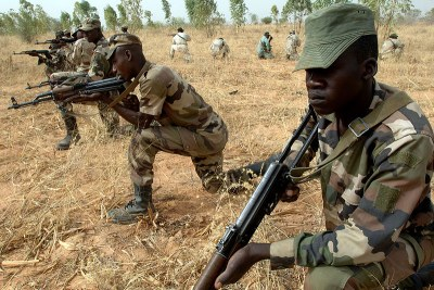 Nigerien soldiers have aided French operations in Mali.