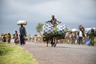 Displaced persons in North Kivu (file photo).