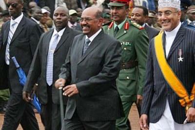 Président El Bashir à Uhuru Park, Nairobi