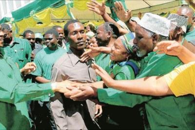 President Jakaya Kikwete on the campaign trail. (file photo)