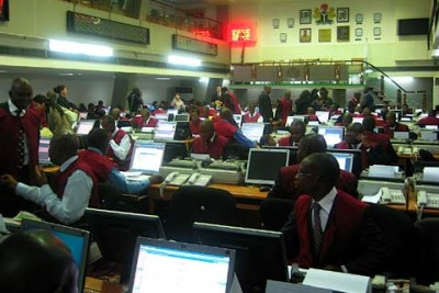 Nigerian Stock Exchange (file photo).