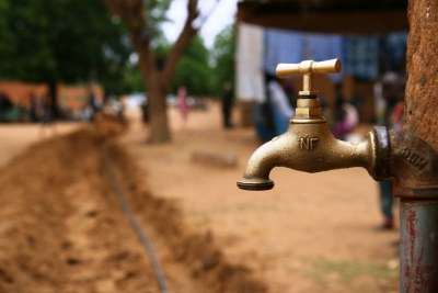 Water tap: People believe that the water crisis is a legacy problem which has been caused, in part, by the failure to maintain infrastructure.