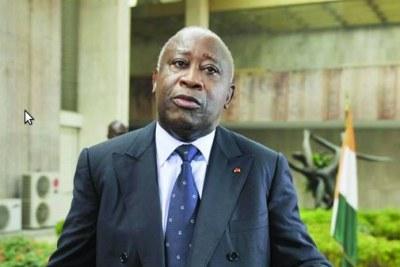 Ivory Coast's Laurent Gbagbo.
