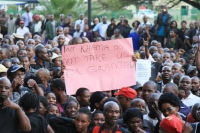 Botswana's civil servants demand 16% wage increase.