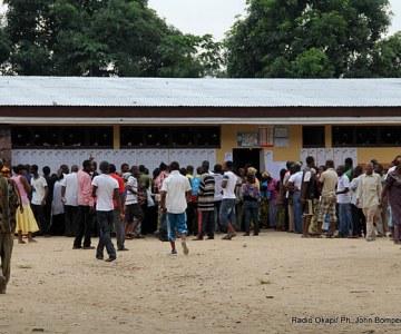 Les Elections à Kinshasa en images