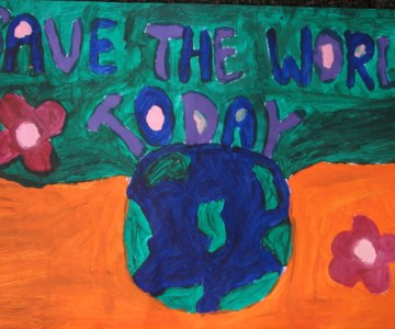 Children Call for Change Through Art