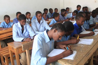 Somali students (file photo).