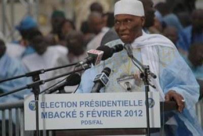 President Abdoulaye Wade.