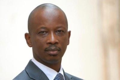 Oumar Khassimou Dia candidat à l'élection présidentielle 2012.