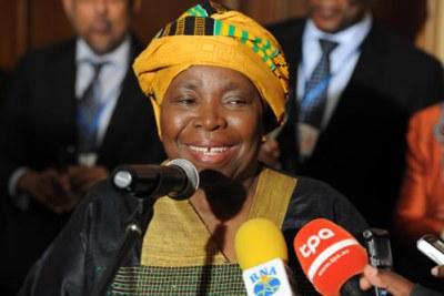 Mme Nkosazana Dlamini-Zuma, nouvelle présidente de la Commission de l'Union africaine